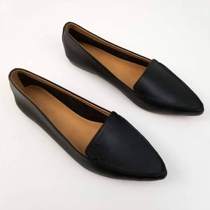 J. Crew Edie loafers pointed toe leather NWOT